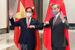 Vietnamese, Chinese Foreign Ministers hold talks