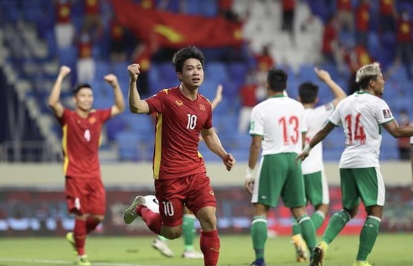 Vietnam beat Indonesia 4-0 in World Cup qualifiers hinh anh 1
