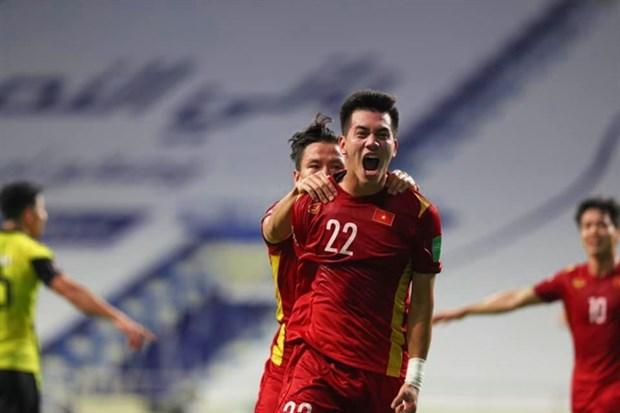 Việt Nam đánh bại Malaysia 2-1, tiến một bước dài vào vòng loại thứ 3 World Cup hinh anh 1