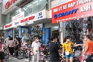 Bicycle sales boom amid pandemic