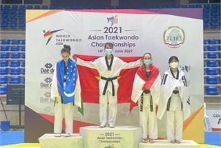 Vietnam win gold, silver at Asian Taekwondo Championship