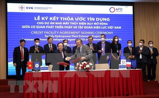 French Development Agency lends 74.7 million EUR to EVN's hydropower project