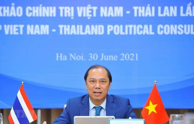 Eight Vietnam-Thailand political consultation held hinh anh 1