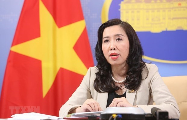Illegal exploration, survey activities in Hoang Sa violate Vietnam's sovereignty: Spokeswoman hinh anh 1