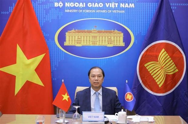 Vietnam vows to contribute to ASEAN-EU strategic partnership hinh anh 1