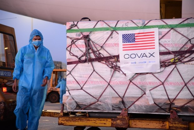 Over two million Moderna vaccine doses arrive in Vietnam hinh anh 1