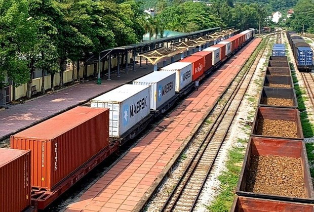 Vietnam Railways launches freight train service to Belgium hinh anh 1