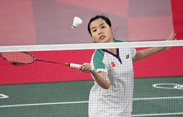 Vietnamese female badminton player wins first game at Tokyo 2020 Olympics hinh anh 1