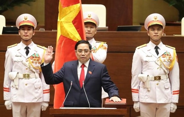 Pham Minh Chinh re-elected as Prime Minister for 2021-2026 hinh anh 1