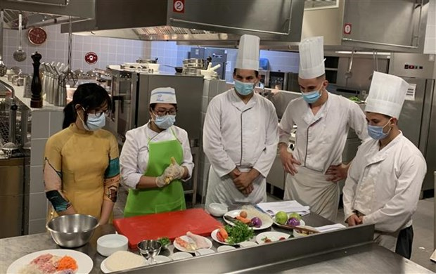 Vietnamese cuisine promoted in Algeria hinh anh 1