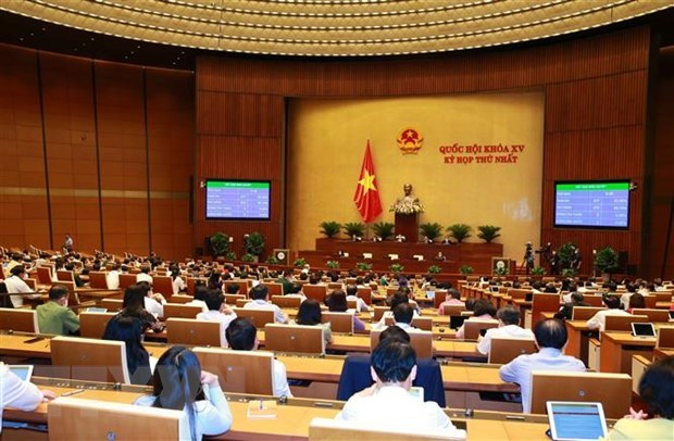 Parliament eyes average growth of 6.5 - 7 percent for five years hinh anh 1