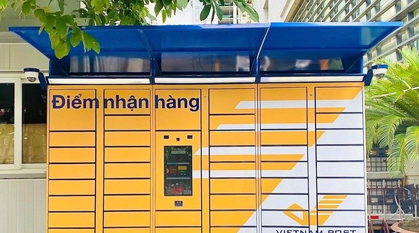 Vietnam Post pilots Post Smart automatic delivery cabinet model hinh anh 1
