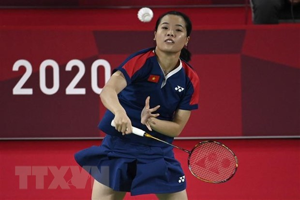 Vietnamese badminton player earns second victory at Tokyo Olympics hinh anh 1