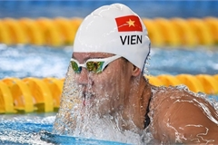Vietnamese swimmer ends journey at Olympic Tokyo 2020