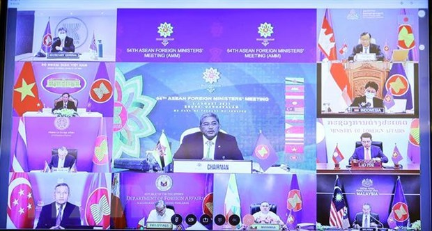 ASEAN affirms peaceful resolution of East Sea disputes based on int'l law hinh anh 1