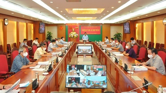 Party Central Committee's Inspection Commission announces fifth meeting's conclusions hinh anh 1