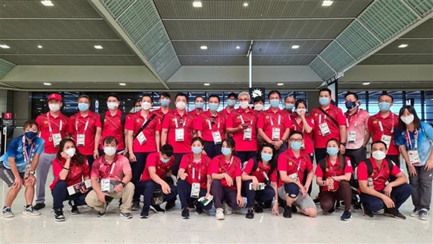 Vietnamese athletes conclude journey at Tokyo Olympics hinh anh 1