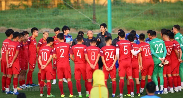 Head coach names 25-man squad for first match of World Cup qualifiers' final round hinh anh 1