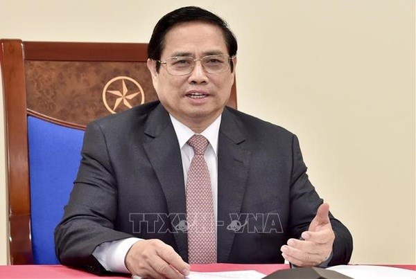 Prime Minister Pham Minh Chinh to hold phone talks with Austrian PM hinh anh 1