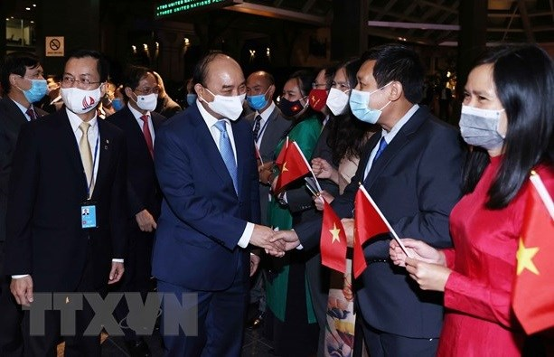 President meets representatives of Vietnamese community in US hinh anh 1