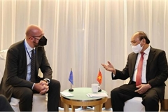 President holds bilateral meetings with foreign leaders in New York