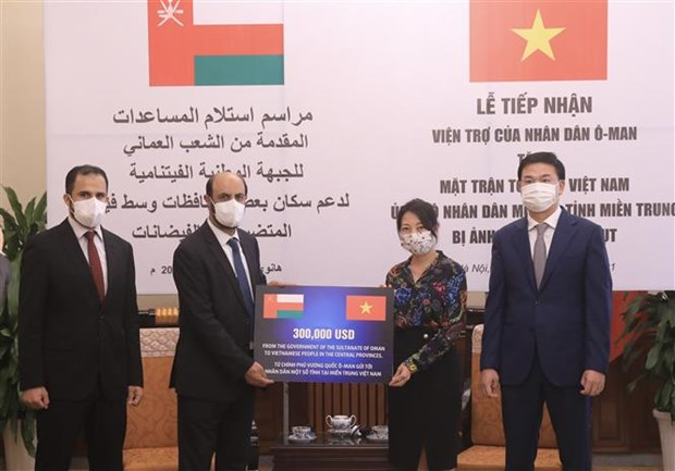 Oman offers aid for Vietnam's flood-hit central provinces hinh anh 1