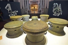 Exhibition introducing Dong Son bronze culture in Switzerland