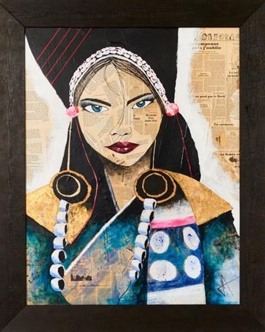 Israeli painter's exhibition spotlights beauty of Vietnamese culture, people