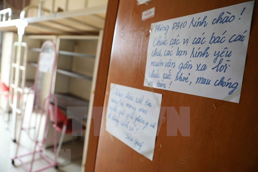 FPT University dorm readies to house 2,000 quarantined people hinh anh 1