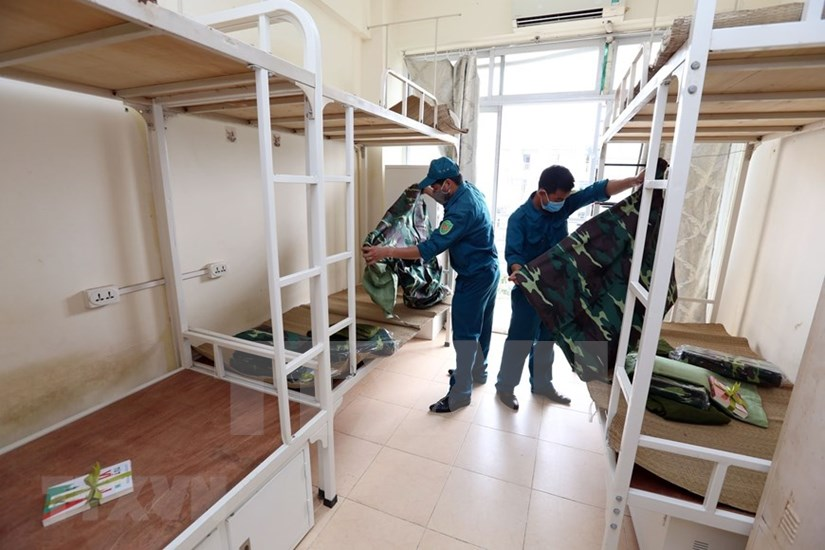 FPT University dorm readies to house 2,000 quarantined people hinh anh 10
