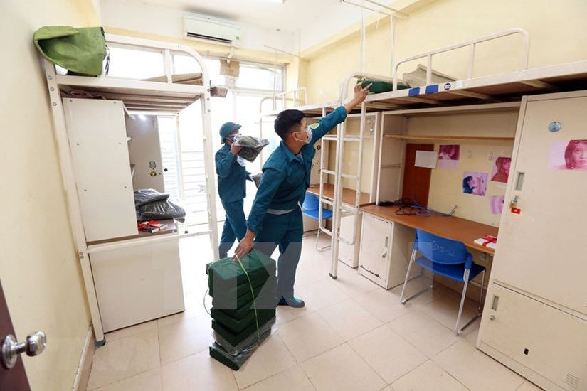 FPT University dorm readies to house 2,000 quarantined people hinh anh 14