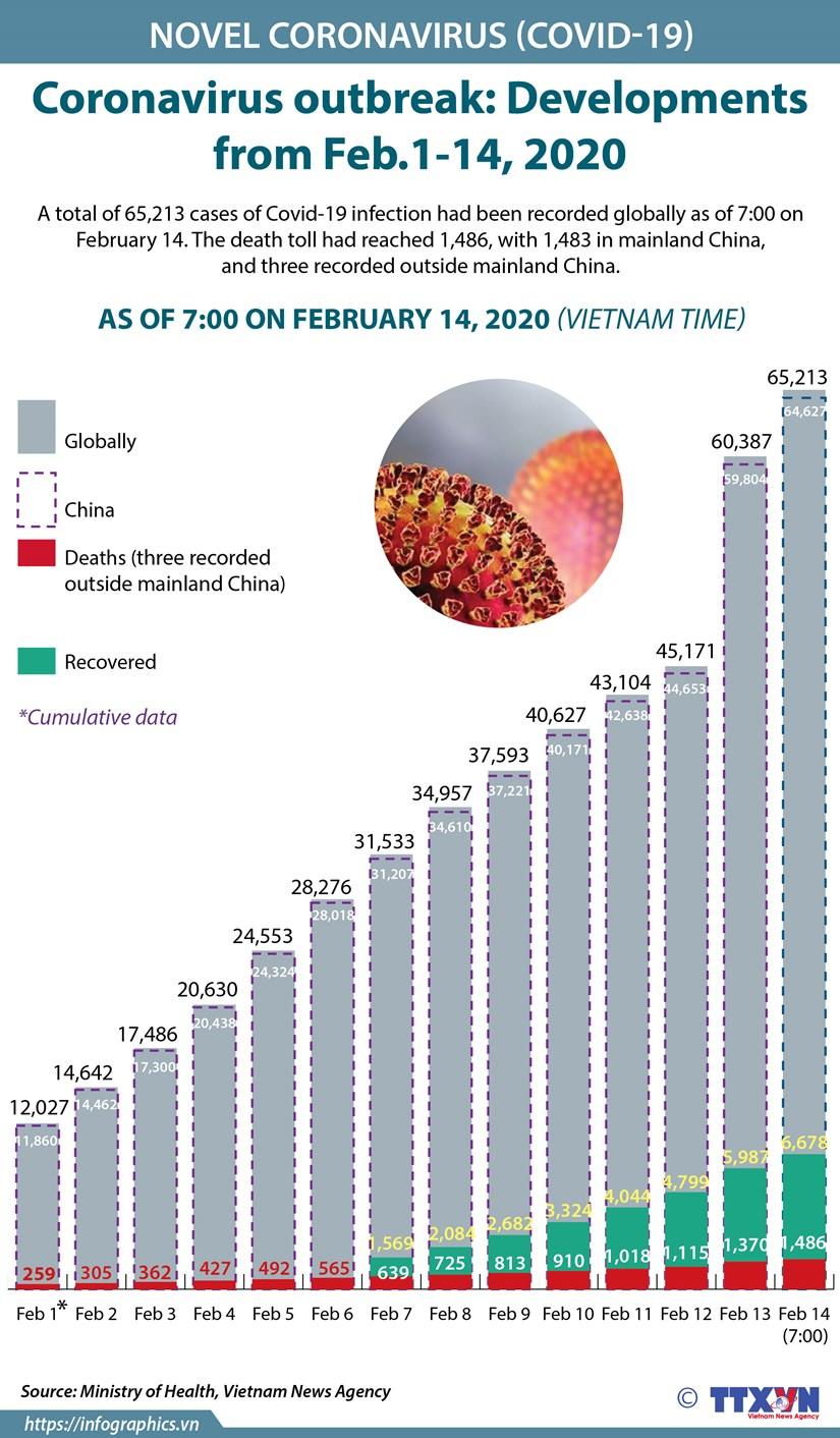 Coronavirus outbreak: Developments from Feb.1-14, 2020 hinh anh 1