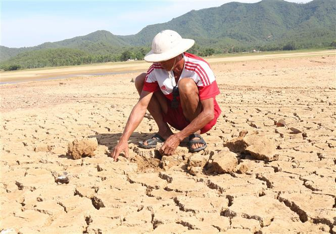 Prolonged drought causes water shortage for agriculture and production in Nghe An province