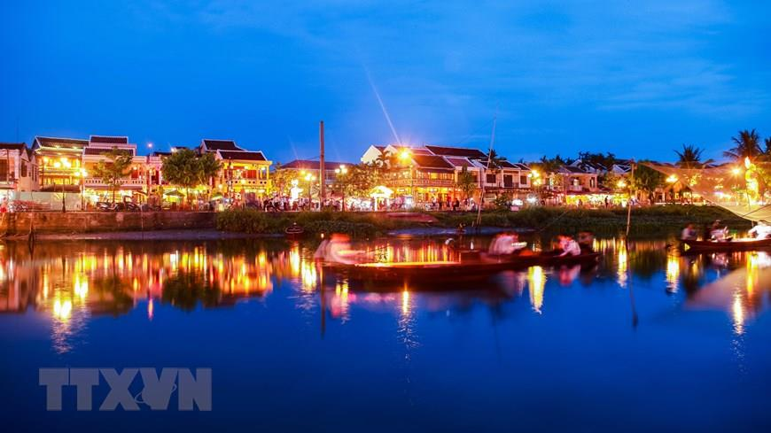 A corner of Hoi An Ancient Town at night (Photo: VNA)