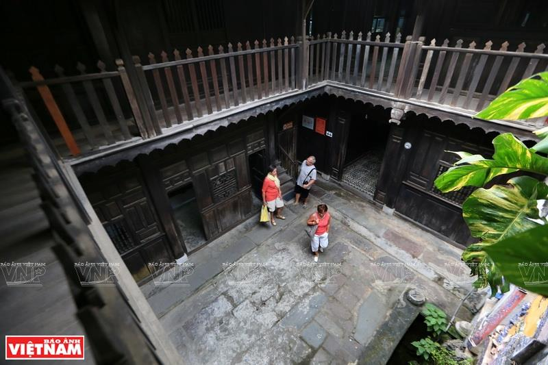 Most of the ancient houses in Hoi An are designed with spacious and open air (Photo: VNA)
