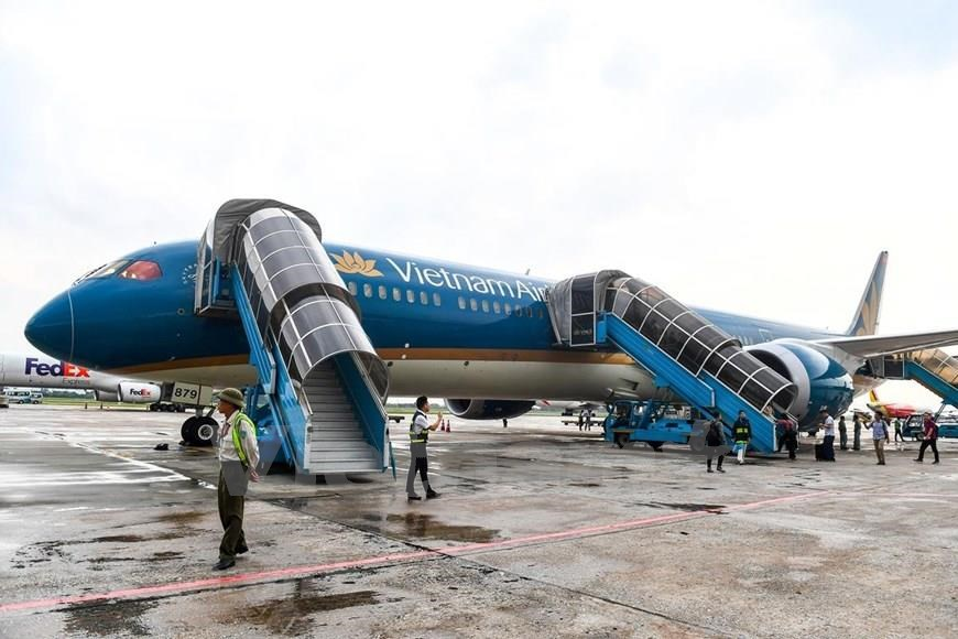 The Boeing 787-10 fleet will further elevate the customer experience on the Hanoi-Ho Chi Minh City route as well as many international routes (Photo: VNA)