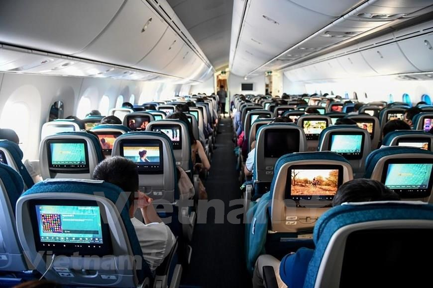The new 787-10 features the Dreamliner's ultra-efficient technology and passenger-pleasing comforts (Photo: VNA)