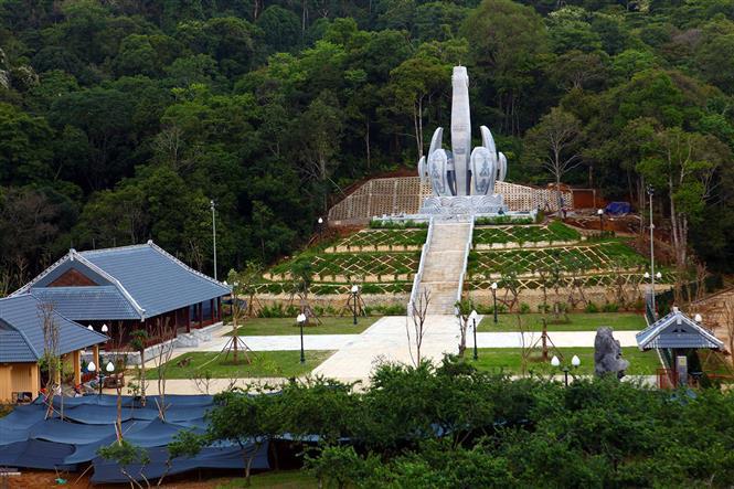 The Vietnam-Laos revolutionary relic site in Lao Kho village (Photo: VNA)