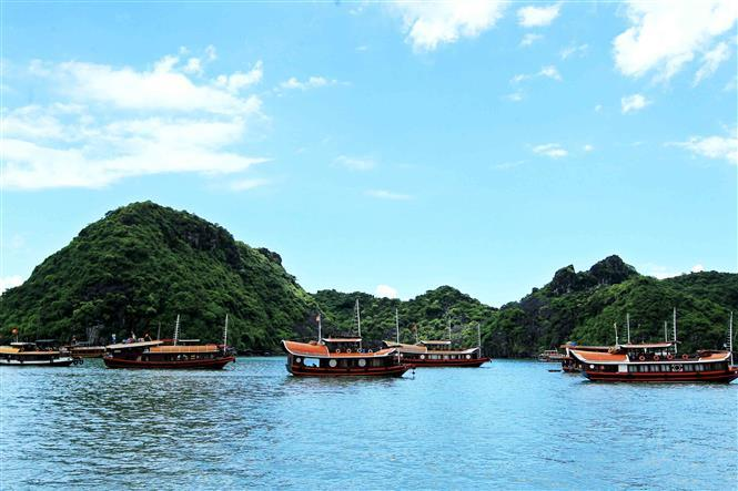 Cat Ba Island is the largest of the 367 islands spanning 260 km2 that comprise the Cat Ba Archipelago, which makes up the southeastern edge of Lan Ha Bay in northern Vietnam (Photo: VNA)