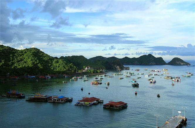 Rugged, craggy and jungle-clad Cat Ba has experienced a tourism surge in recent years (Photo: VNA)