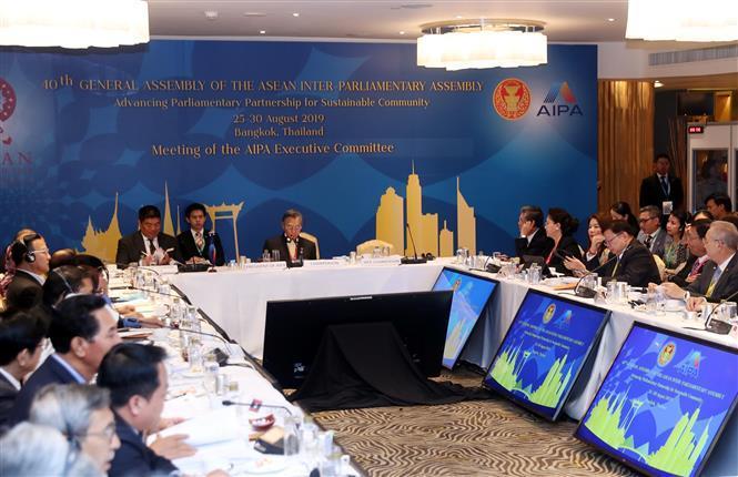 Meeting of AIPA Executive Committee (Photo: VNA)