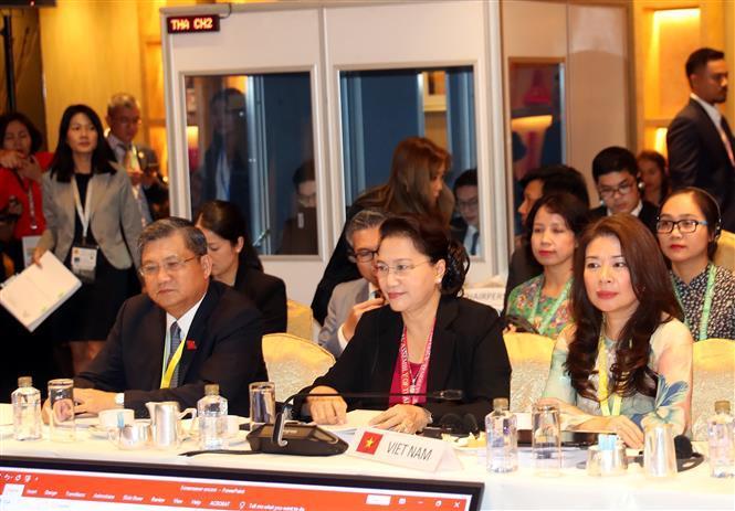 National Assembly Chairwoman Nguyen Thi Kim Ngan at the AIPA Executive Committee Meeting (Photo: VNA)
