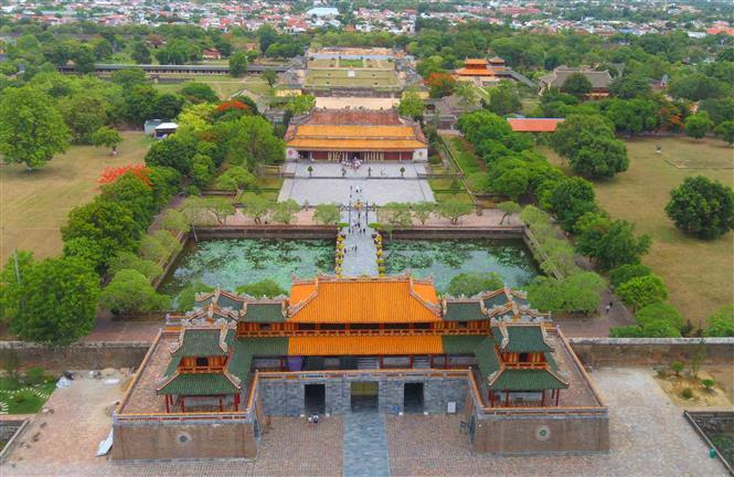 Hue Citadel is one of the relics of Hue Citadel Complex which is recognized by UNESCO as World Cultural Heritage (Photo: VNA)