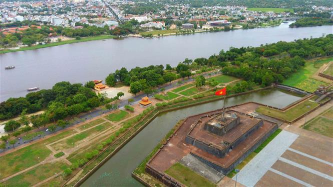 Ky Dai (also known as the Hue Citadel Flag Tower) is an architectural monument of the Nguyen Dynasty (Photo: VNA)