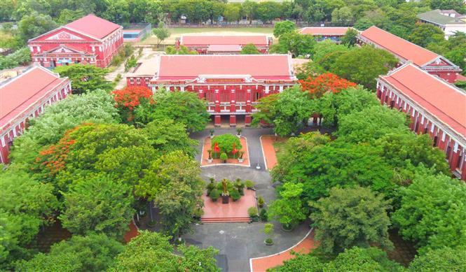 Quoc hoc Hue gifted high school holds the ancient beauty after 122 years of establishment (Photo: VNA)