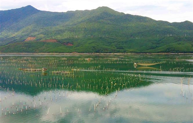 Lap An Lagoon becomes a new sightseeing and discovery destination for visitors (Photo: VNA)