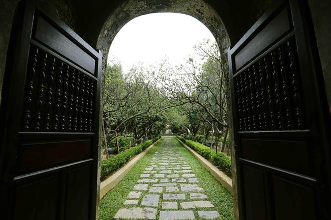An Hien garden house is preserved and embellished to become a tourist destination (Photo: VNA)