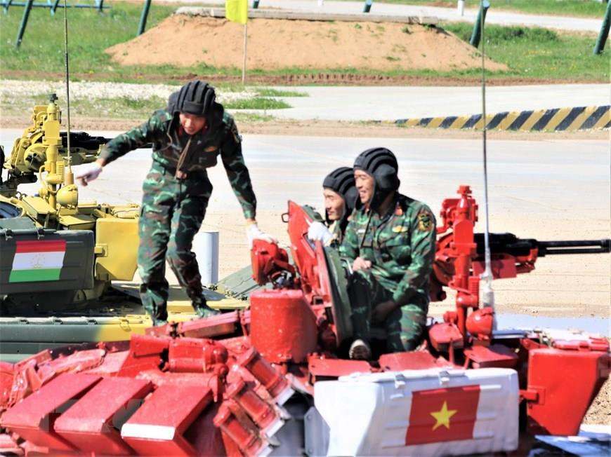 This is the second year Vietnam has sent a delegation to the event, with 125 officers and soldiers in total (Photo:VNA)