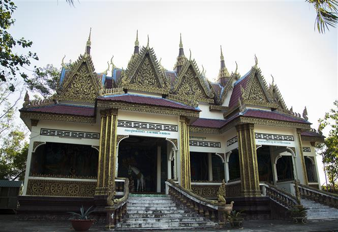 Xa Xia pagoda - cultural and religious centre of Khmer ethnic people in Ha Tien (Photo:VNA)