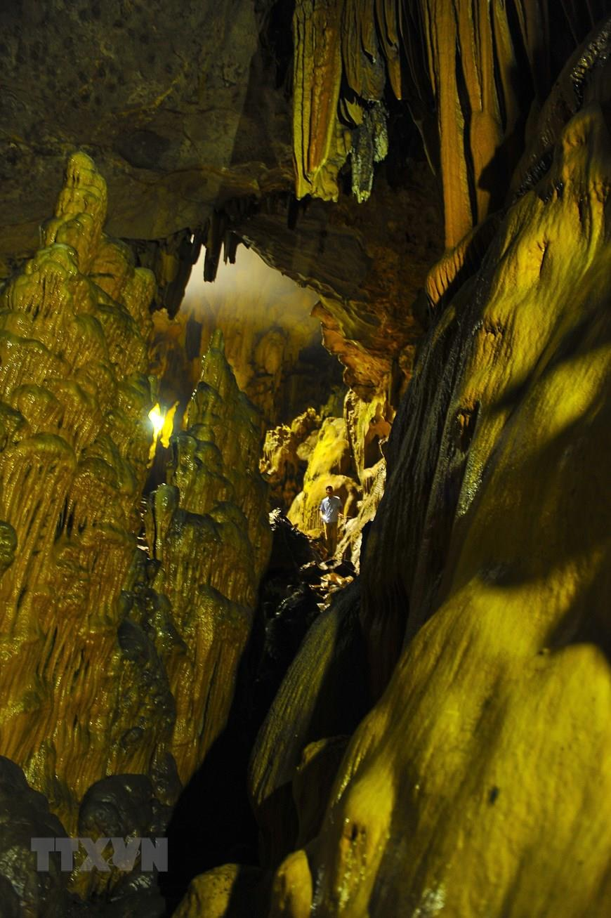 The 4,000 square metre cave is located in Van Trinh village, Thuong Hoa commune, Nho Quan district (Photo:VNA)